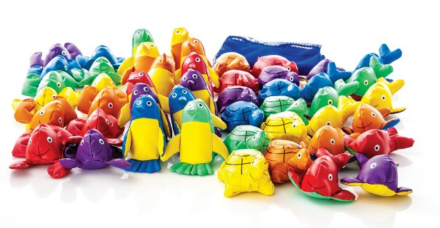 Rainbow® Aqua Animal Beanbags