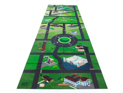 DIES (Danger in Every Step) Distracted Driving Mat