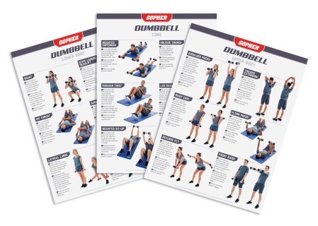 UltraFit Dumbbell Training Charts
