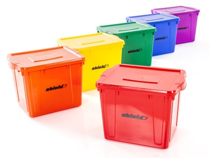 Rainbow Shield Deluxe Storage Totes