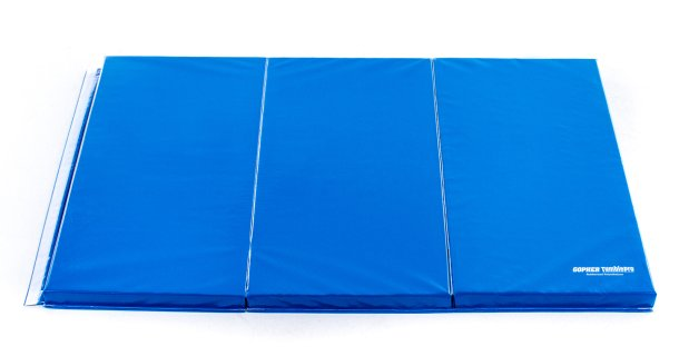 "Gopher TumblePro 2-1/2"" Rubberized Polyethylene-Foam SpeedShip Mats"