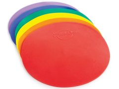 "Rainbow Stay-N-Play Spots - 9"" dia, Set of 6"