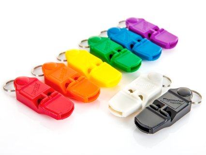 Rainbow® Resonator™ Pealess Whistles