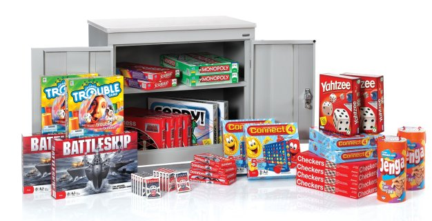 ClassPlus™ Game Pack with Cabinet