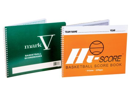 Basketball Scorebooks
