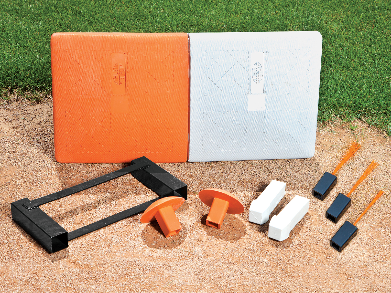 Double Safety First Base - w/ Dual Ground Anchor and Anchor Plugs