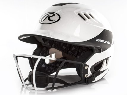 Rawlings® Velo™ Two-Tone Batting Helmet with Mask