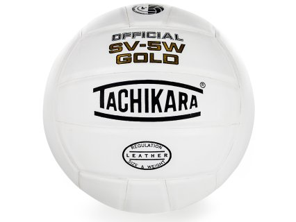Tachikara SV-5W Gold Leather Volleyball