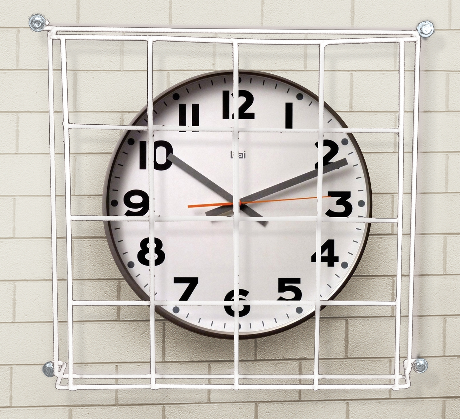 Clock cage for gym