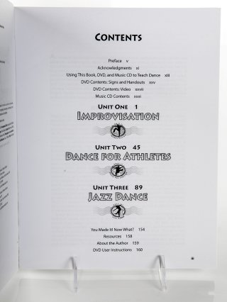 Table of contents is easy to read