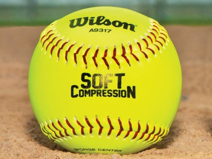11 inch soft compression softball