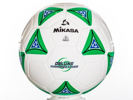 Mikasa Super-Soft - Soccer Ball, Size 5, Green
