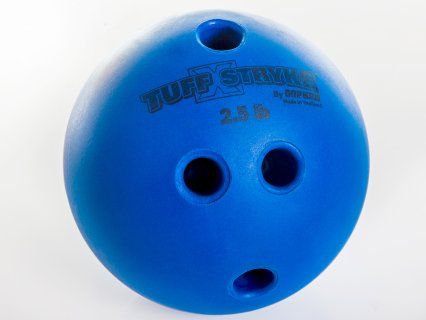 Tuff Stryke Bowling Ball included