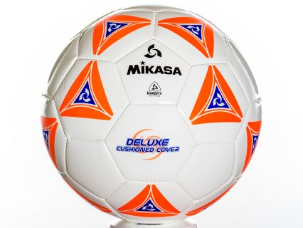 Mikasa Super-Soft - Soccer Ball, Size 5, Orange
