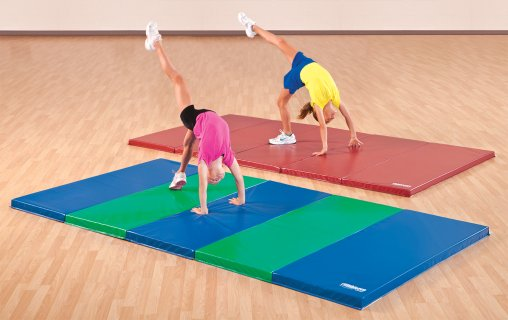 kids gymnastics mats in custom colors