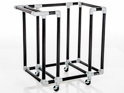 Magnus STEPerfect Fitness Step Storage Cart