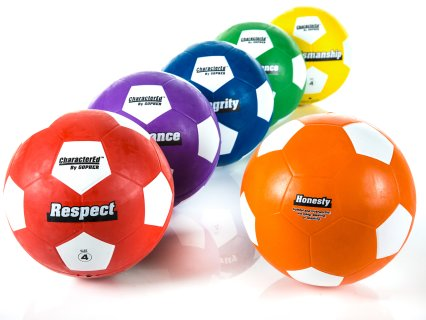 CharacterEd® Rubber Soccer Balls