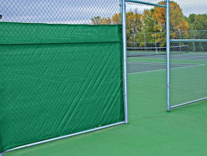 Tennis Court Open Windscreen