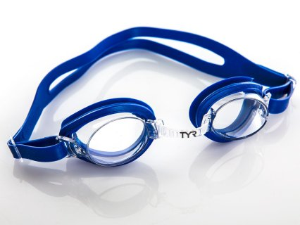 TYR Qualifier Kids Swim Goggles