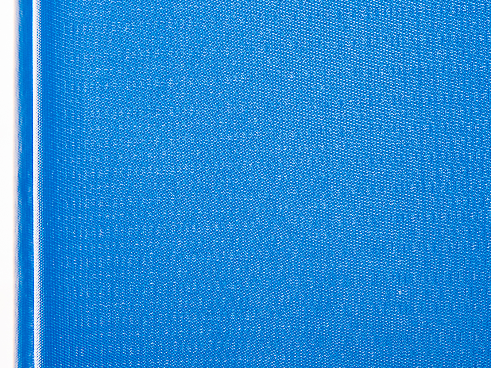 Close up of blue workout mat