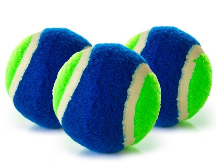 Rainbow Bull's-Eye Velcro® Catch Balls