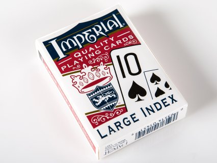 Large-Face Playing Cards