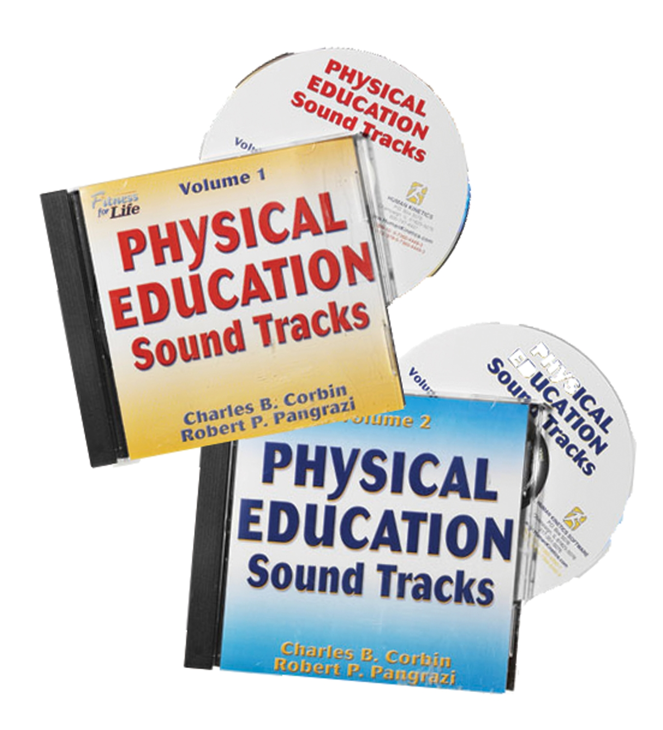 Physical education sound track CD's