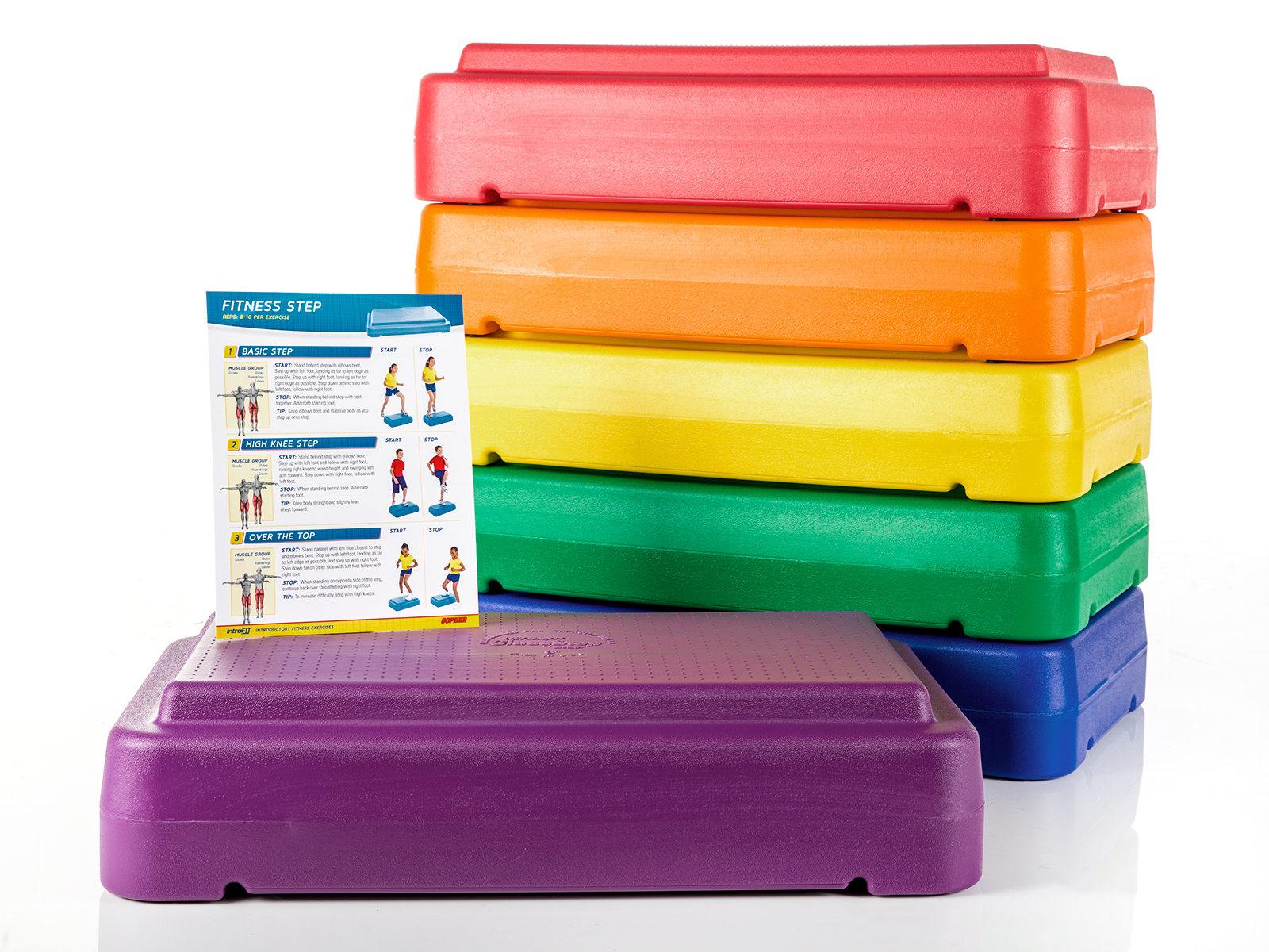 Rainbow Set of 6 w/ Guide