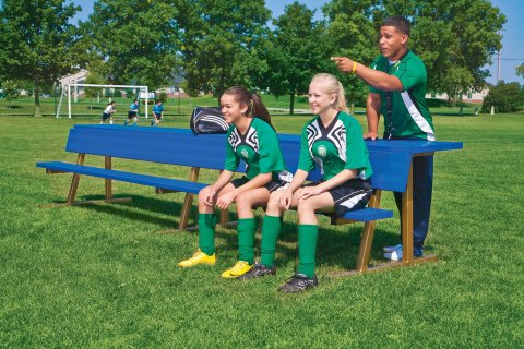Portable Team Color Benches