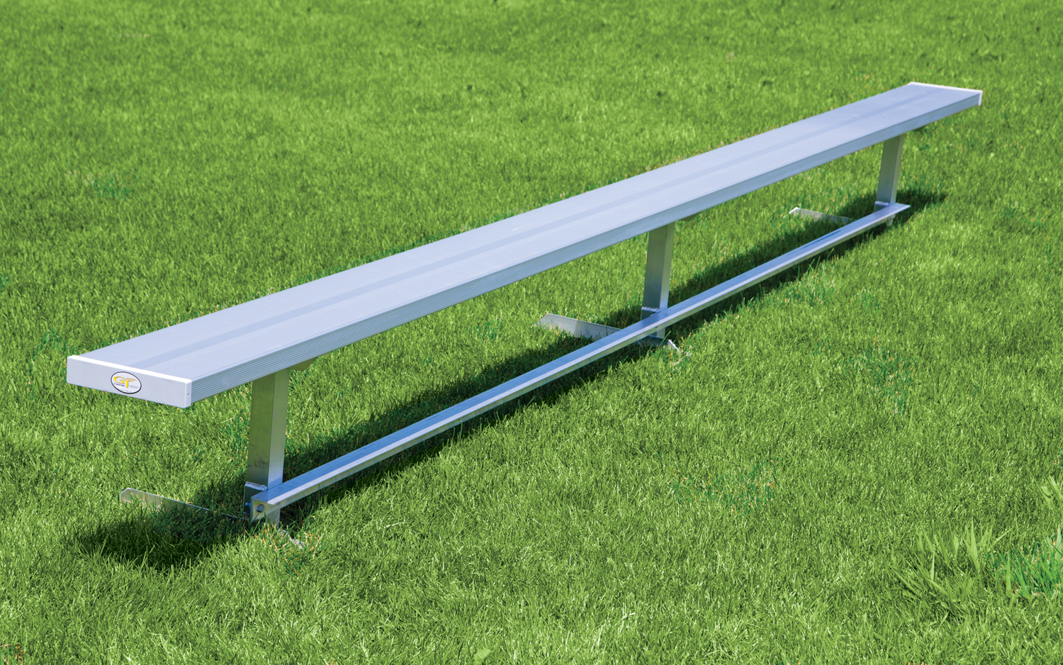 15 inch long permanent bench without back