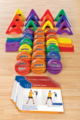 SportSkillz™ Basketball Training Station Packs