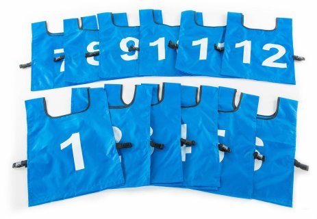 FitPro® Numbered Pinnie Packs