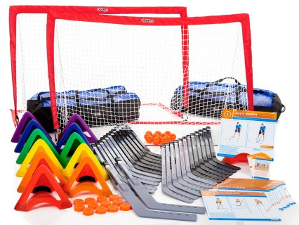 SportSkillz™ Floor Hockey Training Station Packs