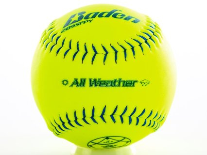 Baden 2BSSFPY All-Weather Fast Pitch Softballs
