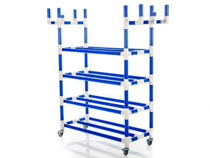 Magnus Recess Rack with Baskets