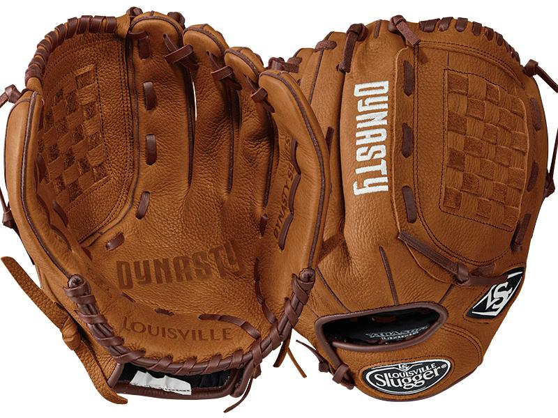 "Louisville Slugger Dynasty - Leather Glove, 12"", Right Throw"