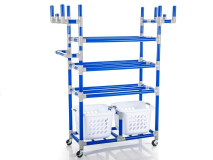Magnus™ Recess Rack with Baskets