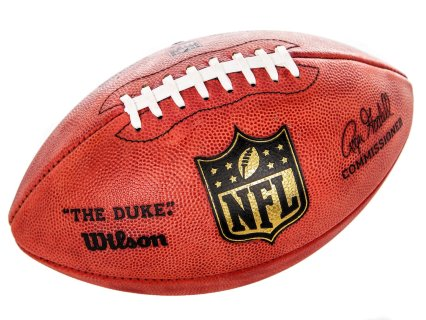 "Wilson ""The Duke®"" Leather Football"