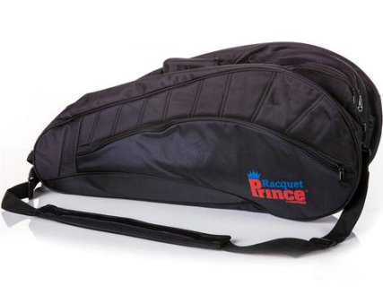 Racquet storage bags included with the Basic packs