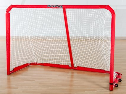 Compact floor hockey goal