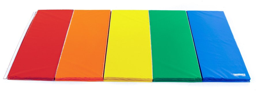 Rainbow 5 ft by 10 ft mat with 2 ft panels