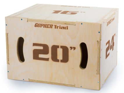 Detonate Triad 3-in-1 Wood Plyo Boxes