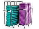 The Step Class Pack Teal/Purple 12 The Steps/48 Risers and 2 Carts