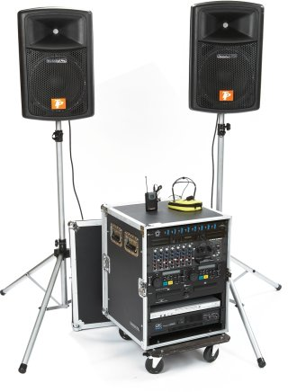 Complete system and speakers