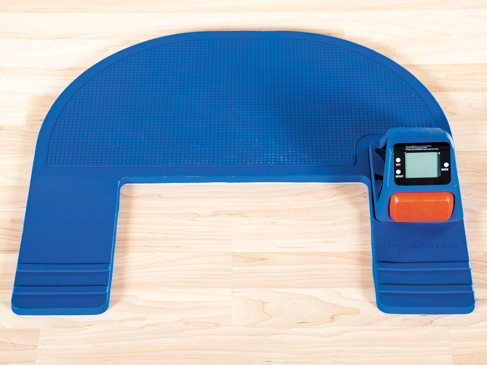 Accurately assess curl ups with easy to use tester