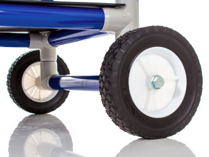 Durable wheel for outdoor mobility