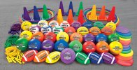 Top-of-the-line balls and equipment for long-lasting use