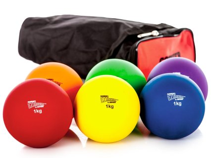 Shot Put, 1 kg, Set of 6