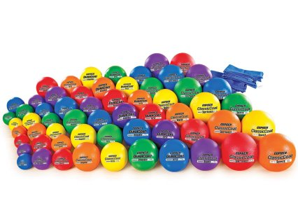 Premium Rainbow Coated-Foam Ball Pack