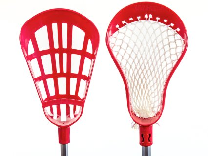 Choose between plastic and netted stick heads